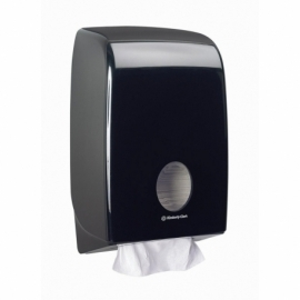 7171 Диспенсер для бумажных полотенец в пачках Aquarius чёрный