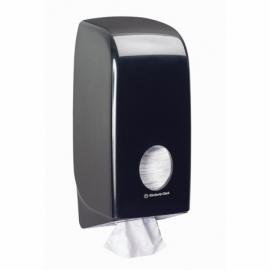 7172 Диспенсер для туалетной бумаги в пачках Aquarius чёрный
