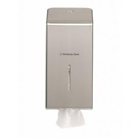 8972 Диспенсер для туалетной бумаги в пачках Kimberly-Clark стальной 2мм