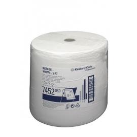7452 Протирочный материал в рулонах WypAll L40 односл. объемный белый (1 рул. 750л.)