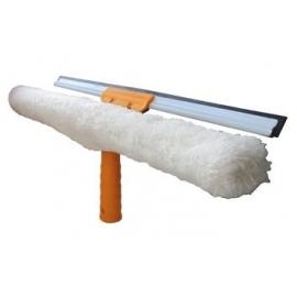 Держатель шубки со сквиджем на 40см пластиковый AF06003