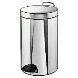 Ведро для мусора 20л. с механизмом подъема крышки (хром)