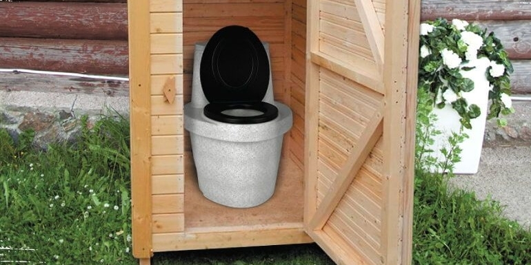 Виды биотуалетов для дачи и загородного дома